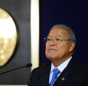 El presidente salvadoreño, Salvador Sánchez Cerén (archivo)