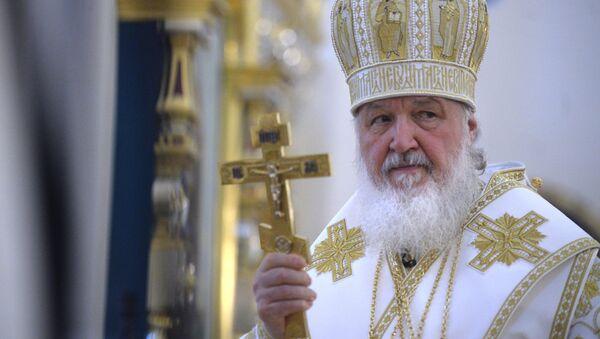 Kiril, patriarca de Moscú y toda Rusia - Sputnik Mundo