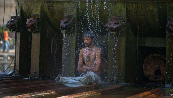 Ola de calor en la India - Sputnik Mundo