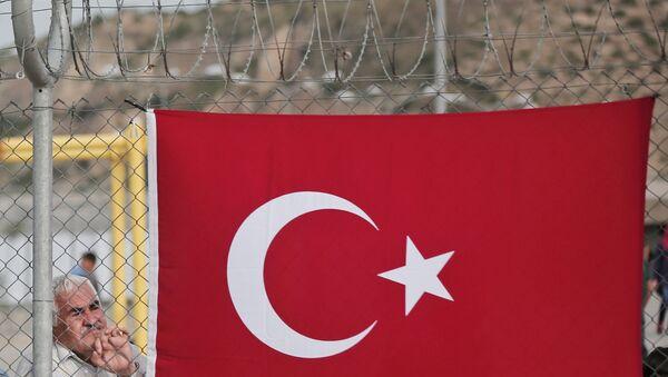 La frontera turco-siria - Sputnik Mundo