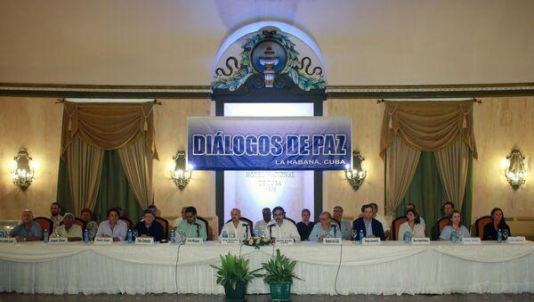 Diálogos de paz en Cuba - Sputnik Mundo
