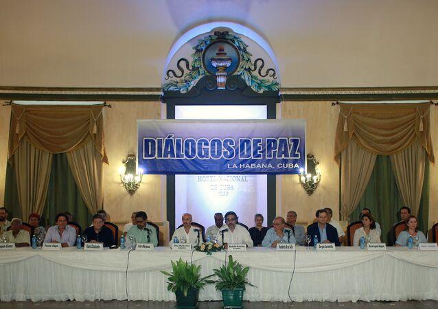 Diálogos de paz en Cuba