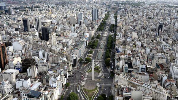 Vista de la capital argentina, Buenos Aires - Sputnik Mundo