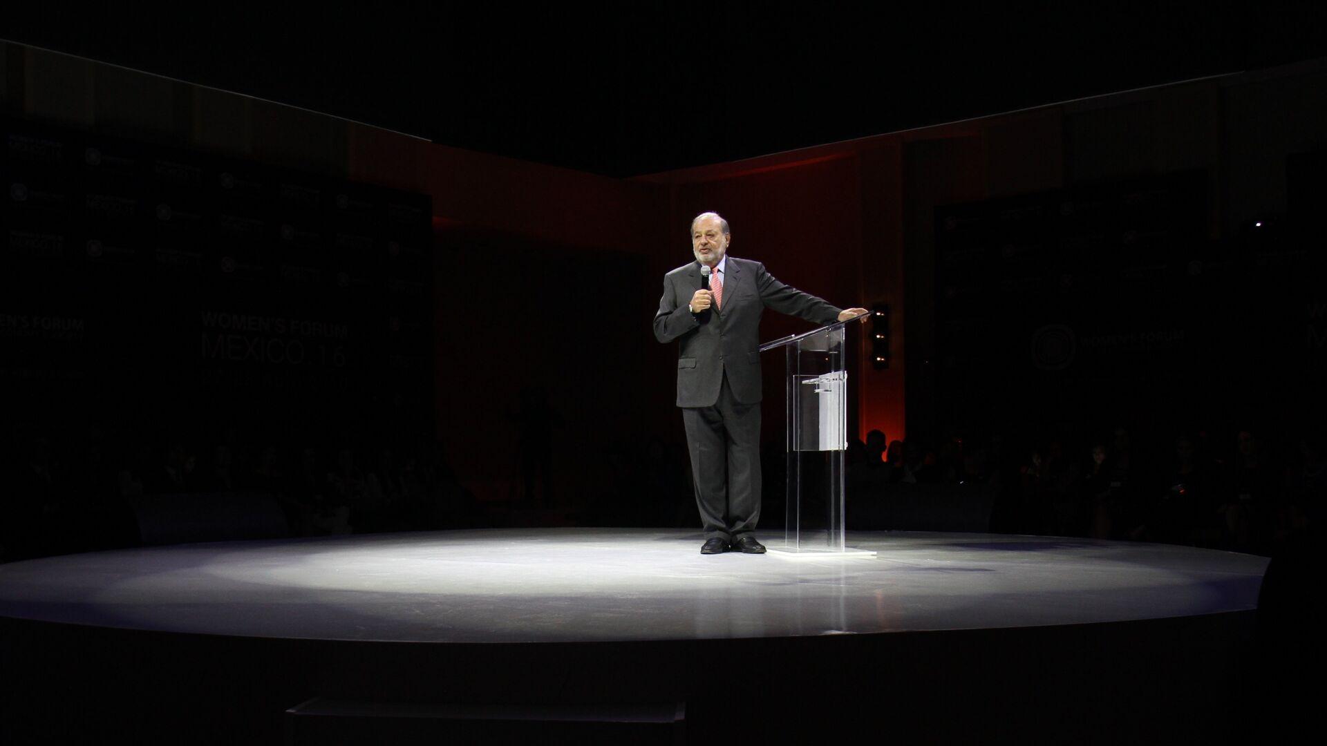 Carlos Slim, empresario mexicano - Sputnik Mundo, 1920, 16.04.2021