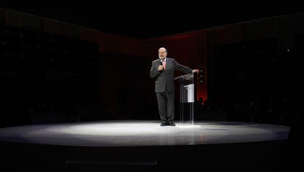 Carlos Slim, empresario mexicano - Sputnik Mundo