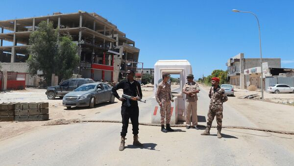 Miembros de las Fuerzas Armadas de Libia - Sputnik Mundo