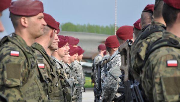 Maniobras de la OTAN en Polonia (archivo) - Sputnik Mundo