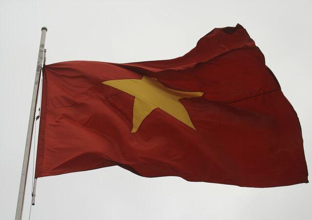 La bandera de Vietnam