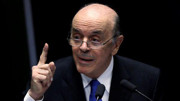 José Serra, exministro brasileño - Sputnik Mundo
