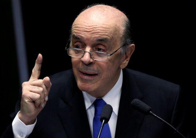 José Serra, exministro brasileño