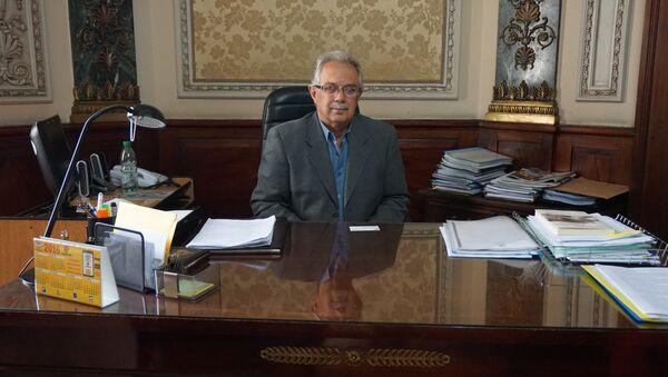 Dr. Jorge Menéndez, Subsecretario de Defensa Nacional de Uruguay, en su despacho - Sputnik Mundo