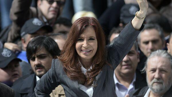 Cristina Fernández de Kirchner, expresidente de Argentina - Sputnik Mundo