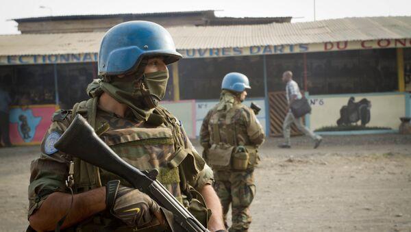Personal militar de las Naciones Unidas para el mantenimiento de la paz - Sputnik Mundo