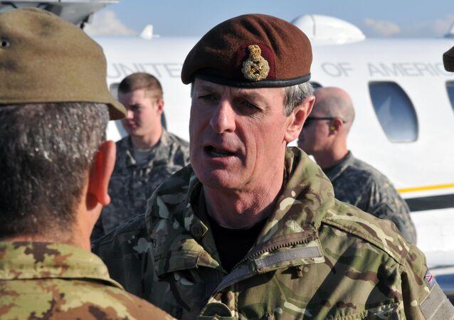 El general británico Sir Alexander Richard Shirreff