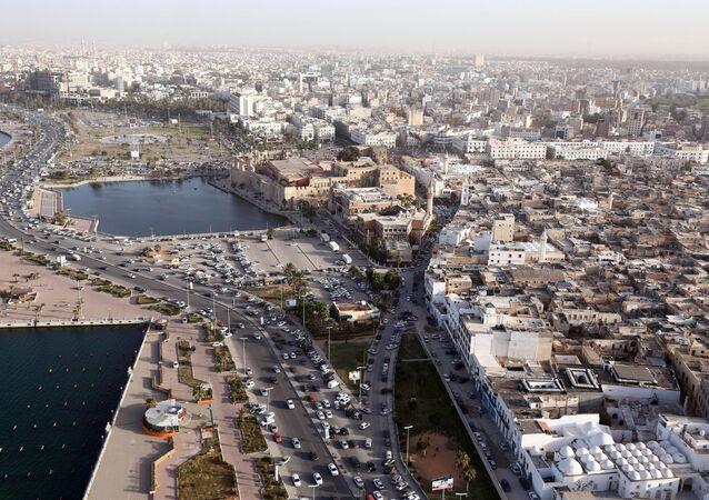 La ciudad libia de Trípoli