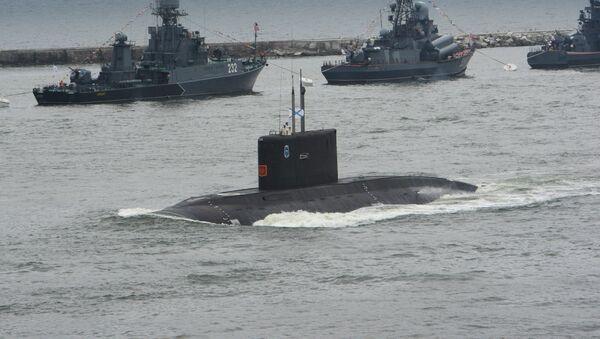 Submarino de la Flota del Báltico - Sputnik Mundo