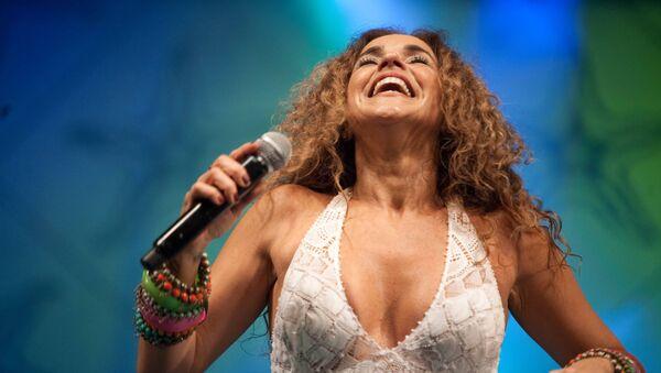 Daniela Mercury, la cantante brasileña - Sputnik Mundo