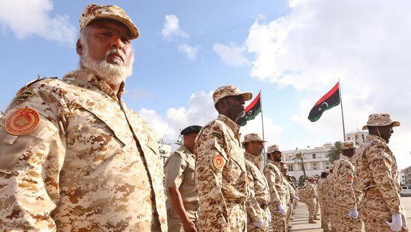 Soldados libios - Sputnik Mundo