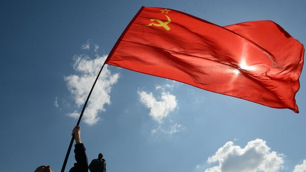 La bandera de la Unión Soviética - Sputnik Mundo