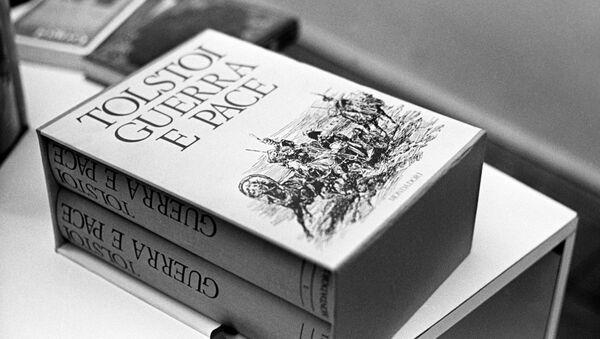 La novela de León Tolstói Guerra y Paz - Sputnik Mundo