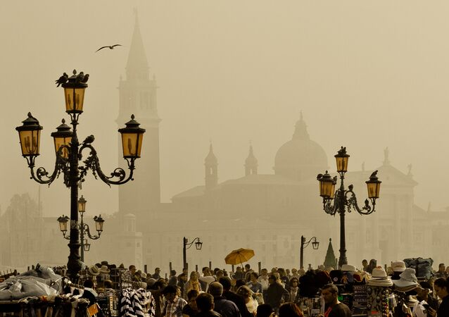 La ciudad  italiana de Venecia