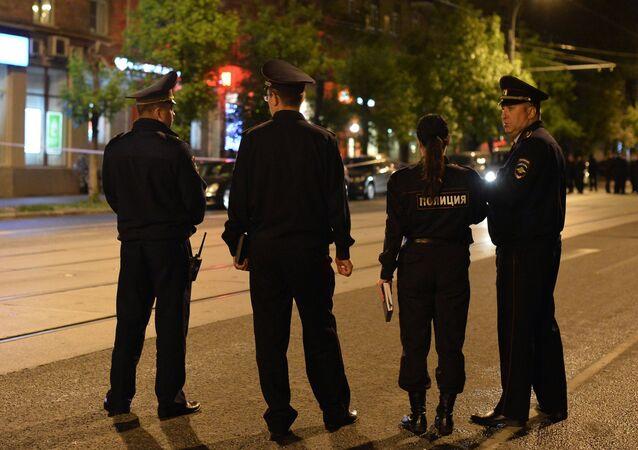 Los agentes de la policía rusa (imagen referencial)