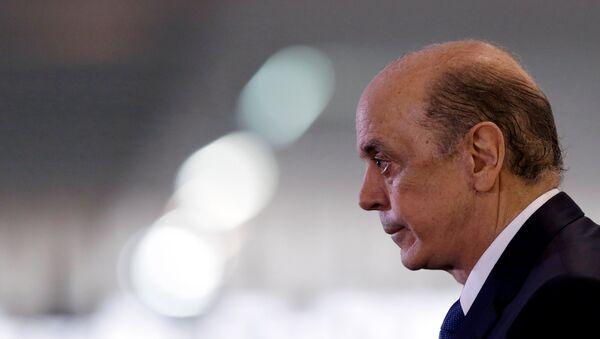 José Serra, canciller de Brasil - Sputnik Mundo