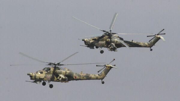 Mi-28N Night Hunter helicopters - Sputnik Mundo