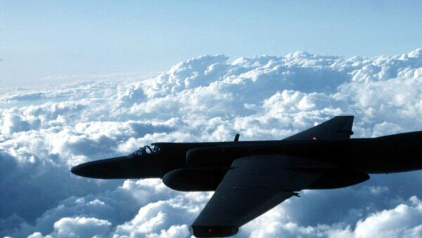 Un avión militar de EEUU (imagen referencial) - Sputnik Mundo