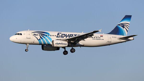 El avión de EgyptAir desaparecido, Bruselas, el 4 de enero de 2015 - Sputnik Mundo