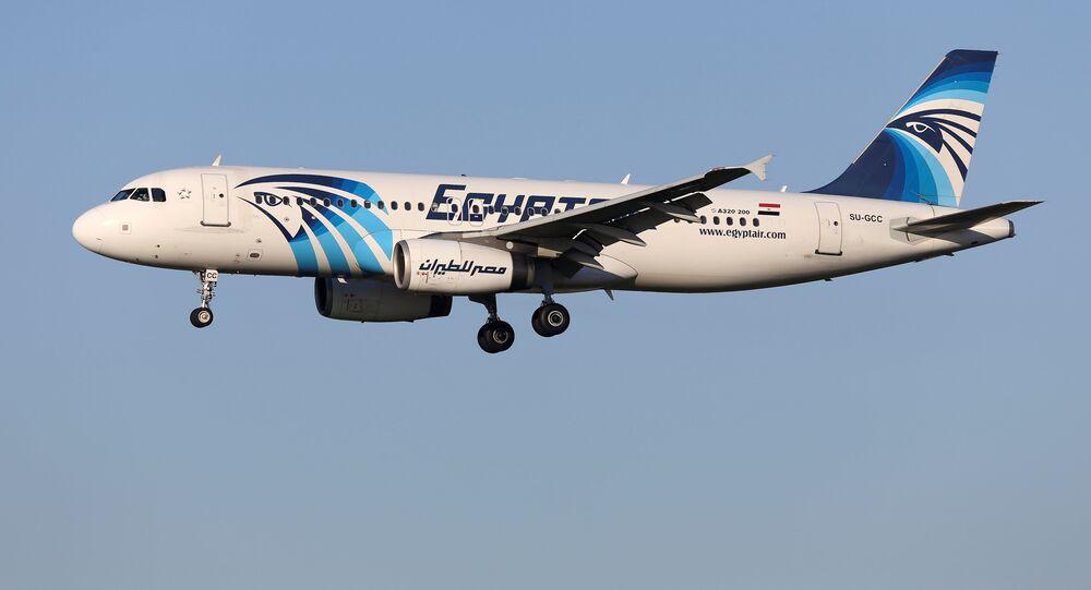 El avión de EgyptAir desaparecido, Bruselas, el 4 de enero de 2015