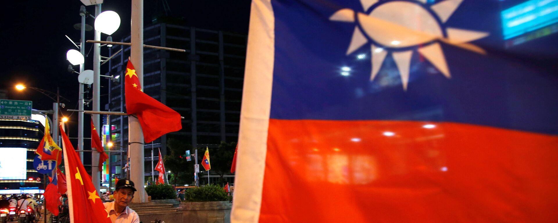 Banderas de Taiwán y China - Sputnik Mundo, 1920, 19.05.2016