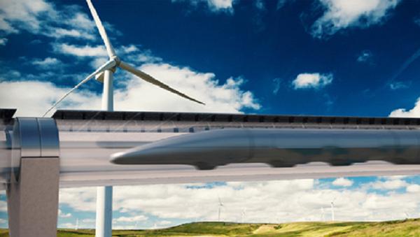 El sistema de transportación Hyperloop - Sputnik Mundo