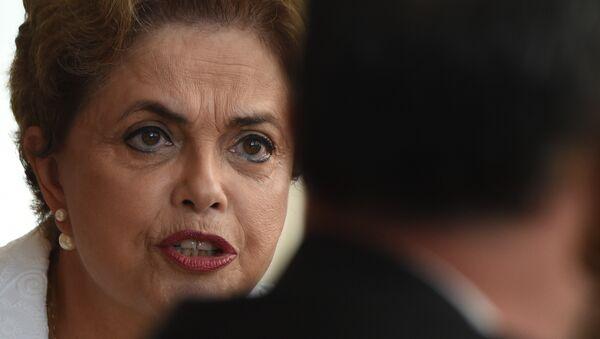 Dilma Rousseff, presidenta suspendida de Brasil - Sputnik Mundo