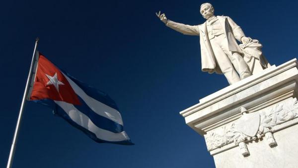 Monumento a José Martí en Cienfuegos, Cuba - Sputnik Mundo