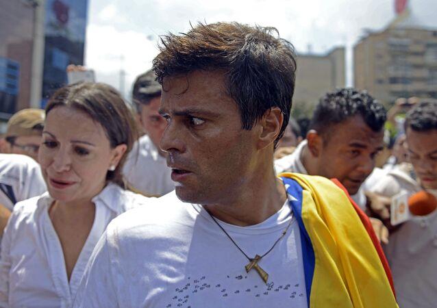 Leopoldo López, opositor venezolano (archivo)