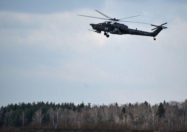 Helicóptero Mi-28N (archivo)