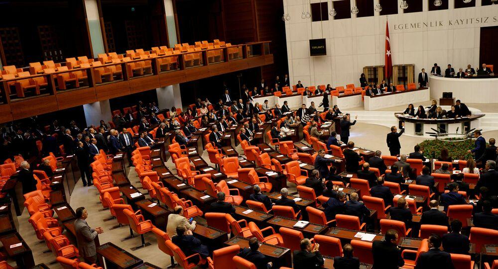 El Parlamento de Turquía (archivo)