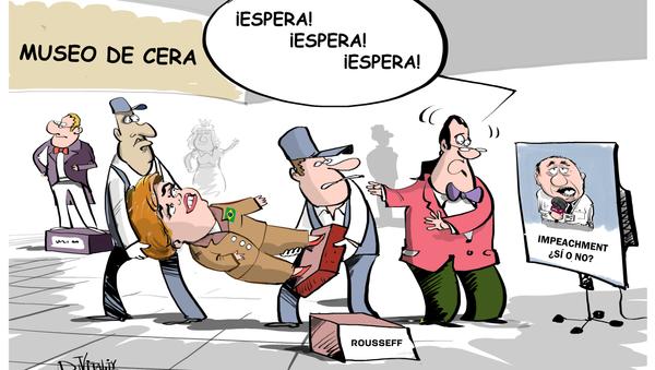 'Impeachment' en el museo de cera - Sputnik Mundo