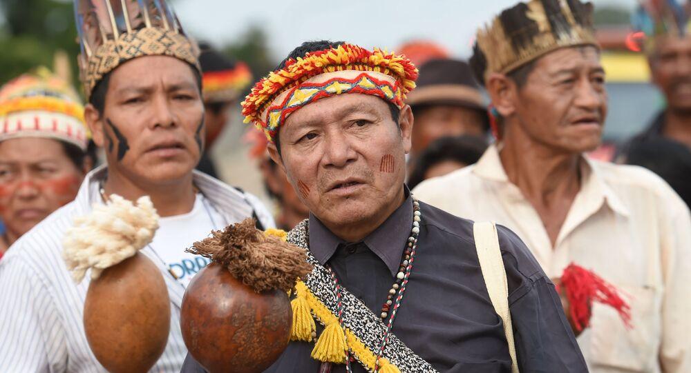 Los indígenas de Brasil (imagen referencial)