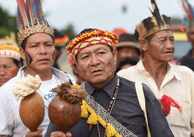 Indígenas brasileñas