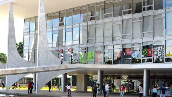 Palacio de Planalto, sede de la Presidencia de Brasil - Sputnik Mundo