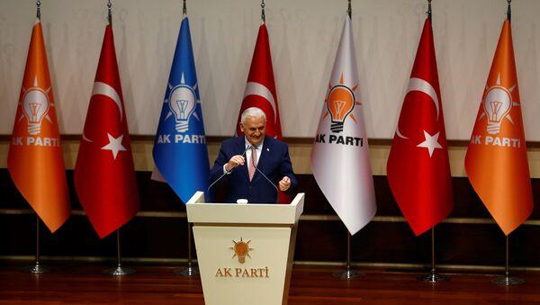 Binali Yildirim, el nuevo presidente del partido gobernante de Turquía - Sputnik Mundo