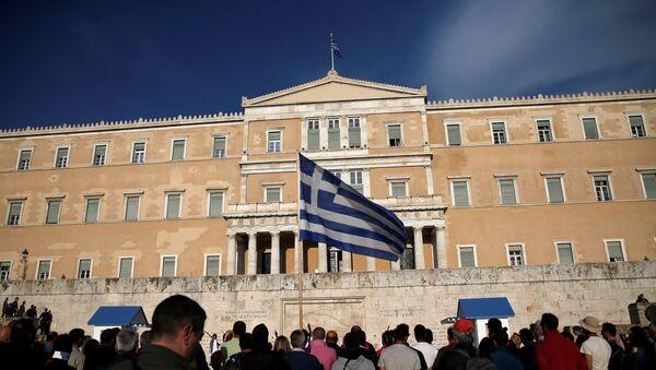 Parlamento de Grecia - Sputnik Mundo