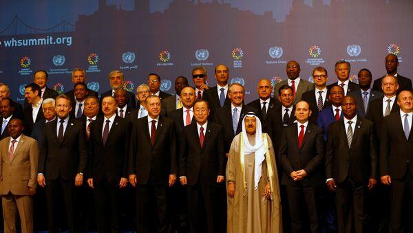La cumbre mundial humanitaria en Turquía - Sputnik Mundo