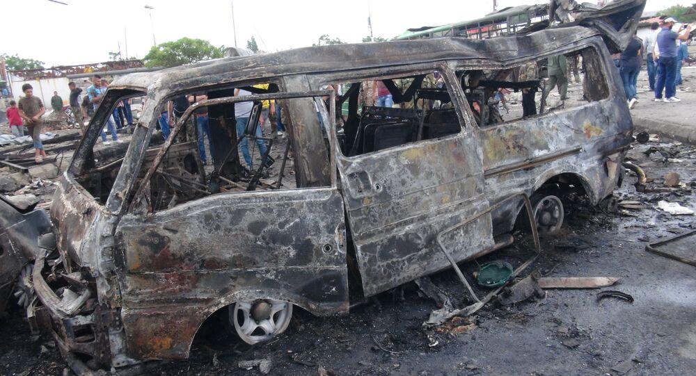 Un atentado en Siria (archivo)