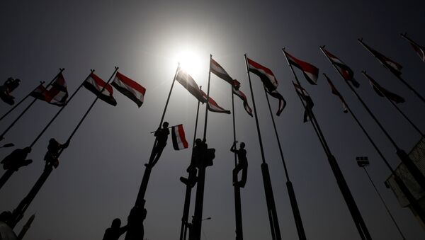 Banderas de Yemen - Sputnik Mundo