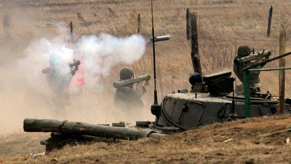 Учения бригады ВДВ РФ на Сергеевском полигоне в Приморском крае - Sputnik Mundo