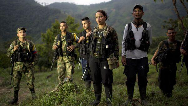 Miembros de la FARC - Sputnik Mundo