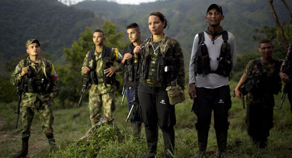 Miembros de la FARC 8arvhivo)